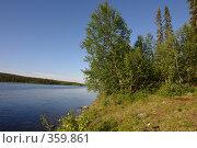 Купить «На берегу озера», фото № 359861, снято 14 июля 2008 г. (c) Владимир Тимошенко / Фотобанк Лори