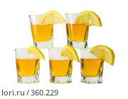 Купить «Стопка и лимон», фото № 360229, снято 23 июня 2008 г. (c) Рыбин Павел / Фотобанк Лори