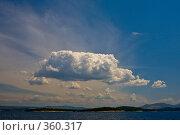 Облако. Стоковое фото, фотограф Сергей Бондарук / Фотобанк Лори