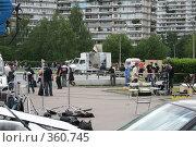 Съёмочная площадка (2008 год). Редакционное фото, фотограф Алексей Юдов / Фотобанк Лори