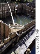 Купить «Старинная промысловая ловушка для рыбы», фото № 361149, снято 17 июня 2008 г. (c) Круглов Олег / Фотобанк Лори