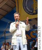 Купить «Андрей Дементьев на дне Астаны», фото № 365717, снято 21 августа 2007 г. (c) Виктор Соколовский / Фотобанк Лори