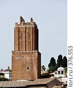 Купить «Руины римского форума. Италия.», фото № 376553, снято 24 июня 2007 г. (c) Павел Коновалов / Фотобанк Лори