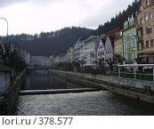 Река Тепла.Карловы Вары (2006 год). Редакционное фото, фотограф Андрей Толстик / Фотобанк Лори