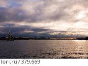 Купить «Нева. Утро. Санкт-Петербург», эксклюзивное фото № 379669, снято 24 июля 2008 г. (c) Александр Алексеев / Фотобанк Лори