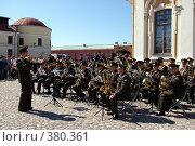 Купить «Военный оркестр», фото № 380361, снято 13 июня 2008 г. (c) Oksana Mahrova / Фотобанк Лори