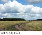 Купить «По дороге с облаками», фото № 384673, снято 18 июля 2005 г. (c) Роман Бурдыко / Фотобанк Лори