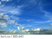 Купить «Небо», фото № 385641, снято 19 июня 2008 г. (c) Юлия Смольская / Фотобанк Лори