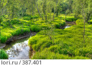Река Каросовка. Стоковое фото, фотограф Александр Иванов / Фотобанк Лори
