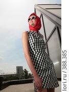 Купить «Девушка в стиле 50-60-х годов», фото № 388385, снято 8 июля 2008 г. (c) Astroid / Фотобанк Лори