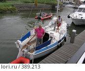 Купить «В порту», фото № 389213, снято 23 июля 2005 г. (c) Вячеслав Смоленский / Фотобанк Лори