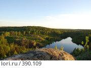 Купить «Треугольное озеро в Карелии», фото № 390109, снято 7 июня 2008 г. (c) Смыгина Татьяна / Фотобанк Лори