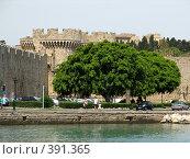 Купить «Родос. Стены старого города», фото № 391365, снято 21 мая 2008 г. (c) Хименков Николай / Фотобанк Лори