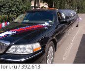 Купить «Свадебный лимузин», фото № 392613, снято 8 августа 2008 г. (c) Анатолий Заводсков / Фотобанк Лори