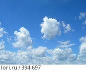Купить «Облака», фото № 394697, снято 21 августа 2019 г. (c) ElenArt / Фотобанк Лори