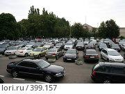 Купить «Паркинг (в Борисполе)», фото № 399157, снято 8 июня 2008 г. (c) Никончук Алексей / Фотобанк Лори