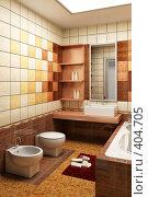 Купить «Дизайн ванной комнаты», иллюстрация № 404705 (c) Дмитрий Кутлаев / Фотобанк Лори