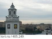 Купить «Восход в Москве», фото № 405249, снято 12 августа 2008 г. (c) Цветков Виталий / Фотобанк Лори