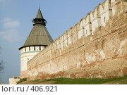 Купить «Астраханский кремль. Красные ворота», фото № 406921, снято 9 апреля 2007 г. (c) Михаил Ворожцов / Фотобанк Лори