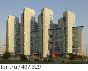 Купить «Жилой дом по ул.Хачатуряна, 12. Москва», фото № 407329, снято 16 августа 2008 г. (c) Артем Ефимов / Фотобанк Лори