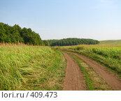 Купить «Бесконечная дорога», фото № 409473, снято 16 августа 2008 г. (c) Евгений Одеров / Фотобанк Лори