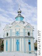 Мичуринск. Часовня в Ильинской церкви (2008 год). Стоковое фото, фотограф Михаил Ворожцов / Фотобанк Лори