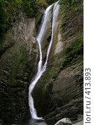 Купить «Ореховский водопад», фото № 413893, снято 13 августа 2008 г. (c) Мажугин Алексей / Фотобанк Лори