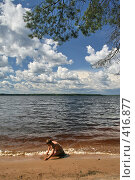 """Купить «Озеро """"Селигер"""" (о. Волго)», фото № 416877, снято 27 июля 2008 г. (c) Александр Секретарев / Фотобанк Лори"""