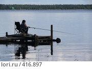 """Купить «Озеро """"Селигер"""" (о. Волго)», фото № 416897, снято 27 июля 2008 г. (c) Александр Секретарев / Фотобанк Лори"""