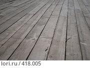 Купить «Деревянный пол», фото № 418005, снято 23 августа 2008 г. (c) Софья Ханджи / Фотобанк Лори