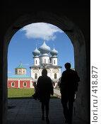 Купить «Тихвинский мужской монастырь», фото № 418877, снято 25 мая 2008 г. (c) Светлана Кудрина / Фотобанк Лори