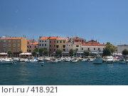 Купить «Марина города Ровинь. Хорватия», фото № 418921, снято 15 июля 2007 г. (c) Артем Ефимов / Фотобанк Лори