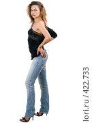 Купить «Сексуальная девушка», фото № 422733, снято 2 июля 2008 г. (c) Сергей Сухоруков / Фотобанк Лори