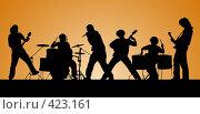 Купить «Рок-группа», иллюстрация № 423161 (c) Сергей Лаврентьев / Фотобанк Лори