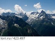 Купить «Горный пейзаж», фото № 423497, снято 10 августа 2008 г. (c) Иван Мельниченко / Фотобанк Лори