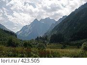 Купить «Горный пейзаж», фото № 423505, снято 12 августа 2008 г. (c) Иван Мельниченко / Фотобанк Лори