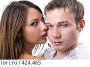 Купить «Молодая пара», фото № 424465, снято 10 июля 2008 г. (c) Сергей Сухоруков / Фотобанк Лори