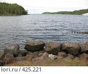 Купить «Валаам, береговая линия. Камни», фото № 425221, снято 6 августа 2008 г. (c) Морковкин Терентий / Фотобанк Лори
