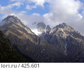 Купить «Горы недалеко от Бишкека», фото № 425601, снято 6 мая 2005 г. (c) Михаил Браво / Фотобанк Лори
