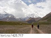 Купить «Путь к Вершине. Памир, 3600 м.», фото № 425717, снято 10 июля 2006 г. (c) Max Toporsky / Фотобанк Лори