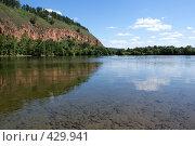Купить «Прекрасный солнечный день на сибирской реке Оке», фото № 429941, снято 9 августа 2008 г. (c) Виталий Попов / Фотобанк Лори