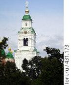 Купить «Надвратная колокольня Успенского собора Астраханского Кремля», фото № 431173, снято 31 августа 2008 г. (c) Татьяна Богатова / Фотобанк Лори