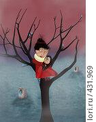 Купить «Тихие сумерки», иллюстрация № 431969 (c) Андреева Екатерина / Фотобанк Лори
