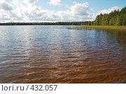 Купить «Пейзаж с озером», фото № 432057, снято 23 августа 2008 г. (c) Катыкин Сергей / Фотобанк Лори