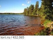 Купить «Пейзаж с озером», фото № 432065, снято 23 августа 2008 г. (c) Катыкин Сергей / Фотобанк Лори