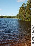 Купить «Пейзаж с озером», фото № 432077, снято 23 августа 2008 г. (c) Катыкин Сергей / Фотобанк Лори
