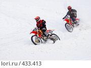 Купить «Зимние моторокеры», фото № 433413, снято 27 января 2008 г. (c) Василий Вишневский / Фотобанк Лори