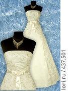 Купить «Свадебное платье», фото № 437501, снято 10 августа 2008 г. (c) Goruppa / Фотобанк Лори