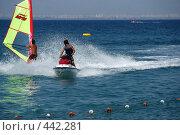 Купить «Волны на море», фото № 442281, снято 2 августа 2008 г. (c) Сергей Пестерев / Фотобанк Лори