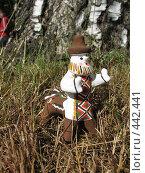 Купить «Каргопольская глиняная игрушка. Полкан», фото № 442441, снято 5 августа 2008 г. (c) Морковкин Терентий / Фотобанк Лори